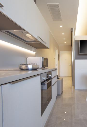 cucina degli appartamenti